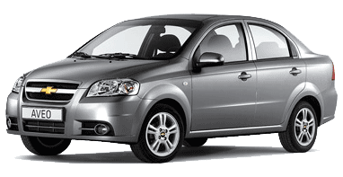 Chevrolet Aveo Classic+ sedan; lakier metalizowany Urban Grey