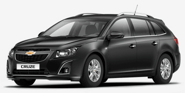 Chevrolet Cruze kombi, czarny Flash Black