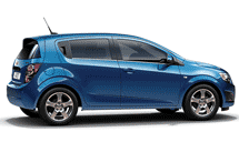Chevrolet Aveo hatchback, model 2012