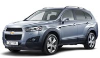 Nowy Chevrolet Captiva - model roku 2011