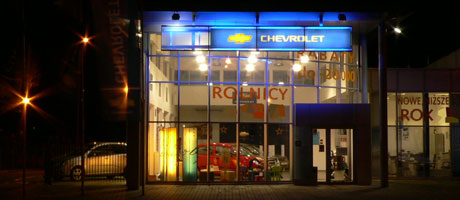 salon chevrolet radom